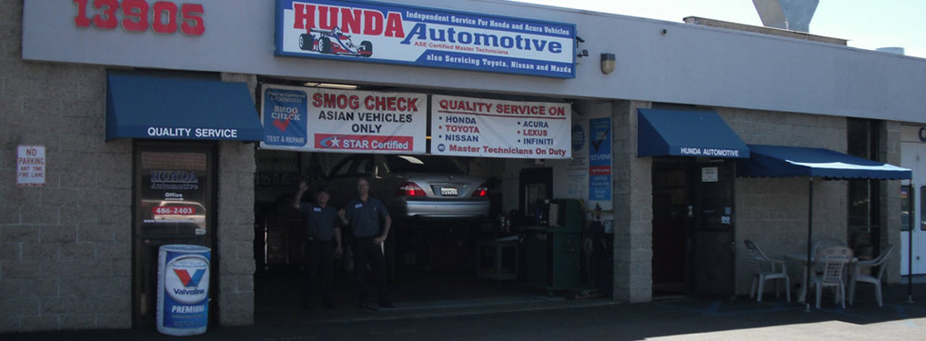 Hunda Automotive Shop Image